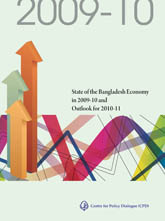 Book Cover: State of the Bangladesh Economy in 2009-10 and Outlook for 2010-11