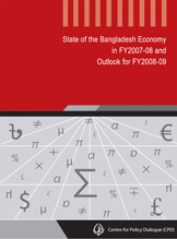 Book Cover: State of the Bangladesh Economy in FY2007-08 and Outlook for FY2008-09