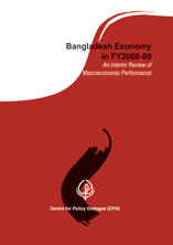 Book Cover: Bangladesh Economy in FY2008-09: An Interim Review of Macroeconomic Performance
