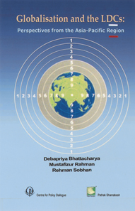Book Cover: Globalisation and the LDCs: Perspectives from the Asia-Pacific Region