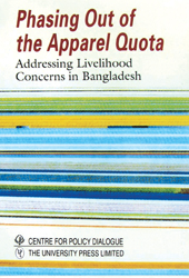 Book Cover: Phasing Out of the Apparel Quota: Addressing Livelihood Concerns in Bangladesh