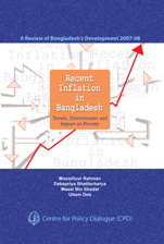 Book Cover: Recent Inflation in Bangladesh: Trends, Determinants and Impact on Poverty