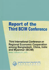 Book Cover: Report of the Third BCIM Conference