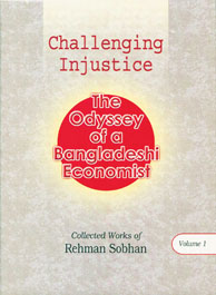 Book Cover: Challenging Injustice: The Odyssey of a Bangladeshi Economist