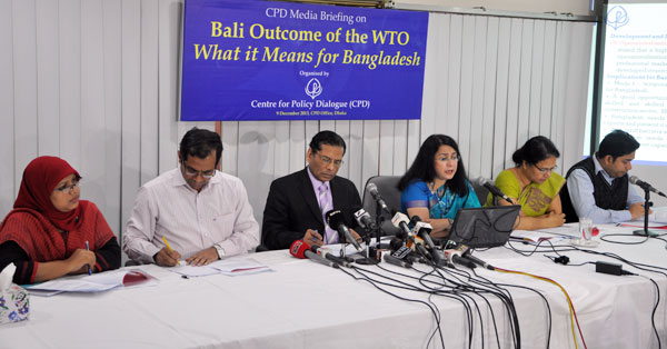 Bangladesh should pay attention to Bali Outcome implications: Media Briefing