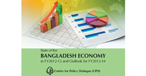 Book Cover: State of the Bangladesh Economy in FY2012-13 and Outlook for FY2013-14