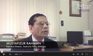 Professor Mustafizur Rahman, Executive Director, CPD interviewed by The Daily Star Online on Rana Plaza collapse. Published by The Daily Star Online