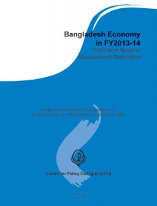 Book Cover: Bangladesh Economy in FY2013-14: Third Interim Review of Macroeconomic Performance