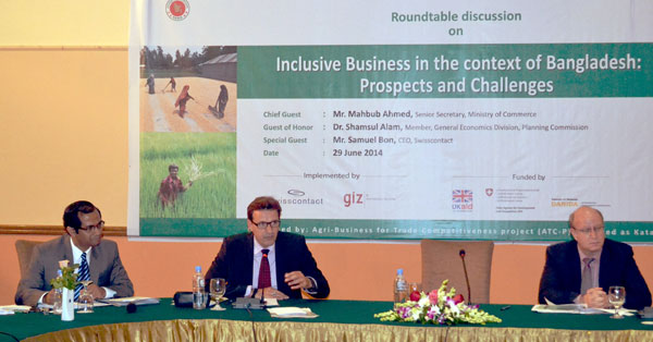 Inclusive Business in Bangladesh needs awareness and policy support