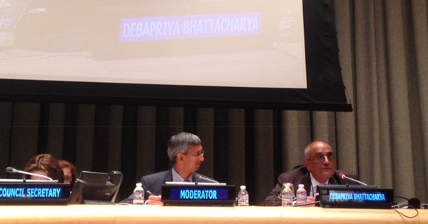 Debapriya Bhattacharya emphasises effective global partnership at UN High-level Political Forum