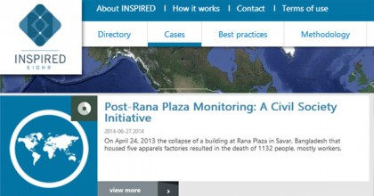 Post-Rana Plaza Monitoring: A Civil Society Initiative