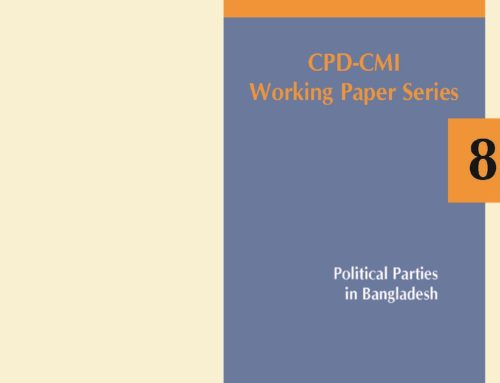 CPD-CMI Paper 8: Political Parties in Bangladesh