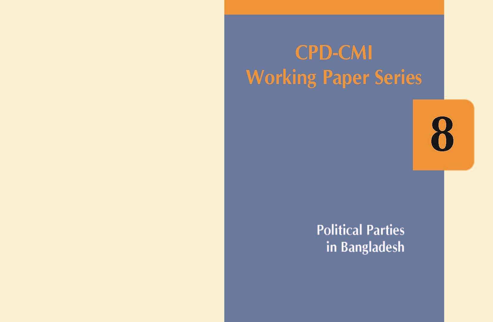 CPD-CMI Working Paper 8