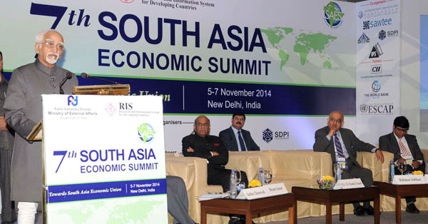 CPD Delegation at 7th South Asia Economic Summit (SAES VII)