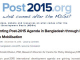 Implementing Post-2015 Agenda in Bangladesh through Domestic Resource Mobilisation