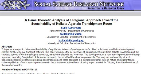 A-Game-Theoretic-Analysis-of-a-Regional-Approach-Toward-the-Sustainability-of-Kolkata-Agartala-Transhipment-Route