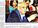 Press reports on the Media Briefing on State of the Bangladesh Economy in FY2015