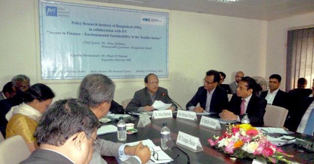 Professor Mustafizur Rahman on green funding for SME, industry infrastructure