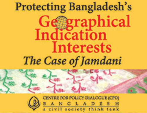 Protecting Bangladesh's Geographical Indication Interests: The Case of Jamdani