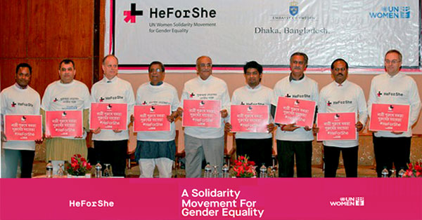 CPD Distinguished Fellow endorses UN HeforShe campaign