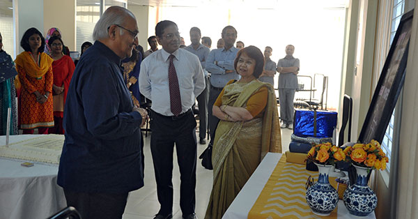 CPD celebrated Professor Sobhan's birth anniversary at its office on 12 March 2015.