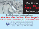 One Year After the Rana Plaza Tragedy: Where Do We Stand? – The Victims, the Sector and the Value Chain