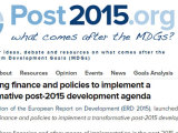 Combining finance and policies for a transformative post-2015 agenda