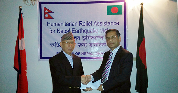 Solidarity with Nepal earthquake victims