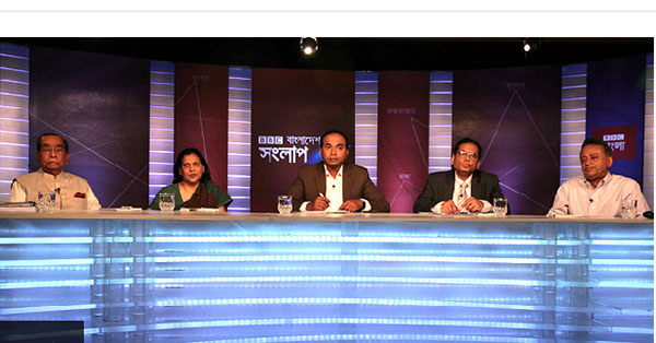 Watch Mustafizur Rahman speaking on Teesta River deal at BBC Sanglap