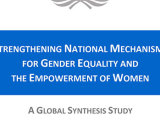 Strengthening National Mechanisms for Gender Equality and the Empowerment of Women: A Global Synthesis Study