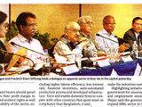 Press reports on Dialogue on Bangladesh Apparel sector