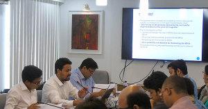 (from left) Md Afshar Ali and Mostafa Amir Sabbih