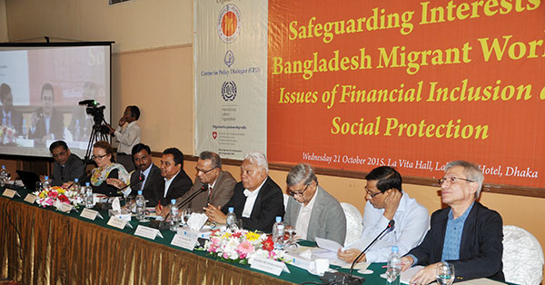 Policy interventions should enhance migrant workers' financial inclusion, social protection