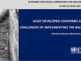 UNESCAP study on LDCs & Trade by Debapriya Bhattacharya (ed.) launched