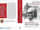 "Birth of Bangladesh: Review on Professor Rehman Sobhan's ""Untranquil Recollections"" in EPW"