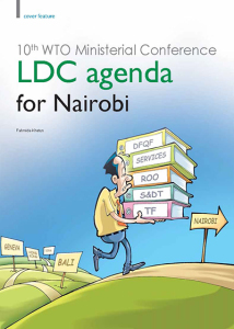 10th-WTO-Ministerial-Conference-LDC-agenda-for-Nairobi