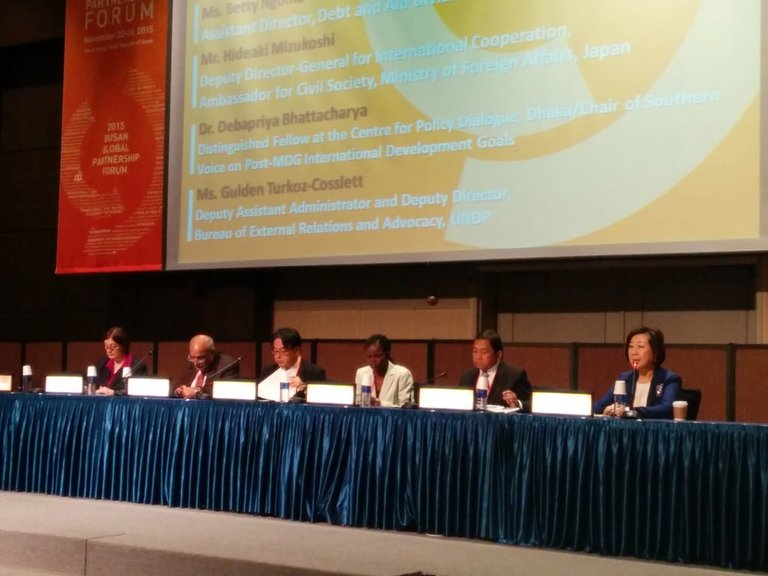 GPEDC's role in the post-2015 framework – Bhattacharya at the 2nd Busan Global Partnership Forum, Seoul