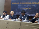 CPD Delegation at the International Seminar on Trade and Employment Challenges, New Delhi