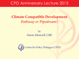 CPD Anniversary Lecture 2015