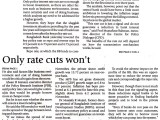 Professor Mustafizur Rahman on policy interest rate cuts