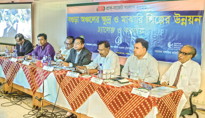 Development of the SME Sector in Bogra