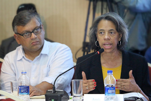 Marcia Stephens Bloom Bernicat U.S. Ambassador - CPD-ILO Event-Post Rana plaza