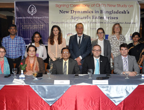 CPD Undertakes New Study on Future of Garments Industry in Bangladesh