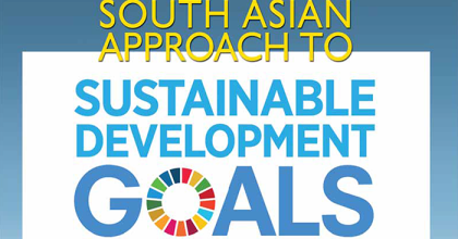 South Asian Approach to Sustainable Development Goals