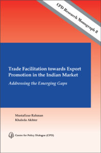 Book Cover: Trade Facilitation towards Export Promotion in the Indian Market