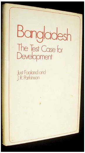 Just Faaland book on bangladesh