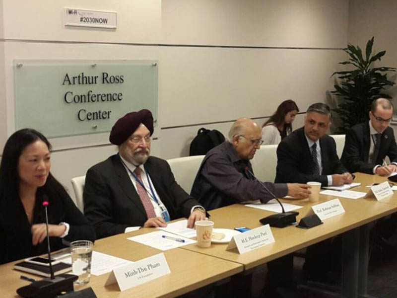CPD_Professor Rehman Sobhan at HLPF 2017_Event by RIS India.