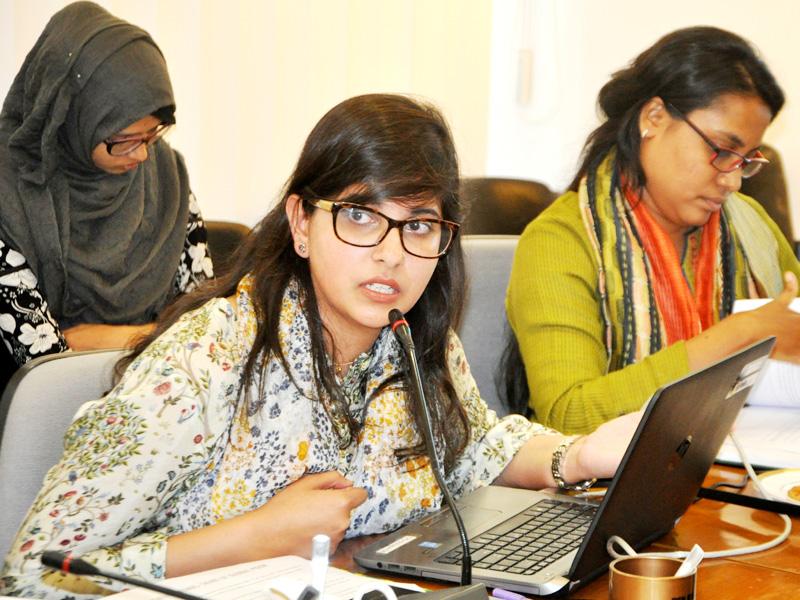 Ms Sarah Sabin Khan at CPD YSSS