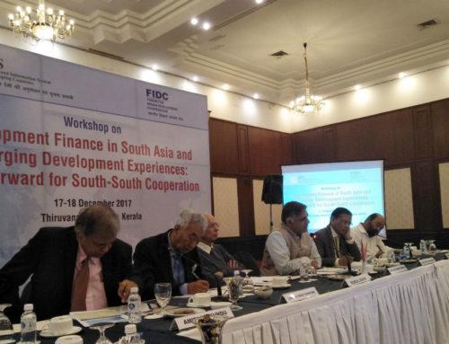 Professor Mustafizur Rahman attends workshop & conference in Kerala