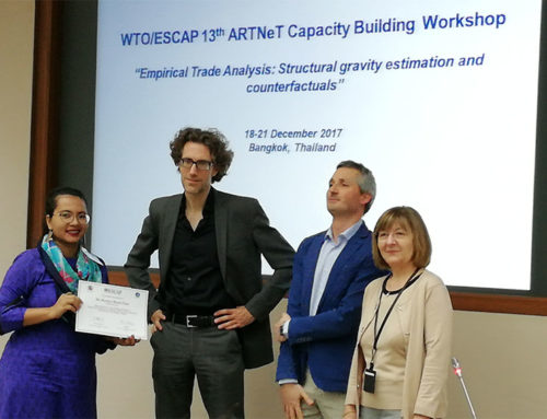 CPD researcher attends WTO/ESCAP-ARTNeT Capacity Building Workshop